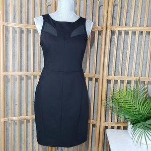 Anthropologie Oasis Sheath Dress Black